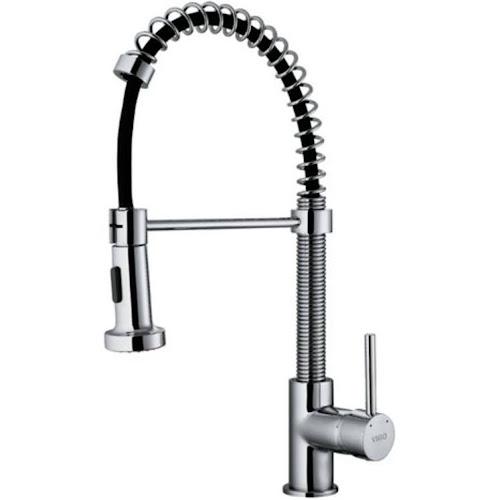Vigo VG02001CH Chrome Pull Out Spray Kitchen Faucet - Google ...