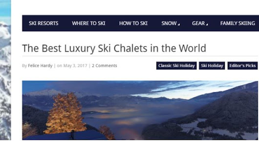 Chalet Eden Rock is one of 'The Best Ski Luxury Chalets in the World' - Kaluma Travel