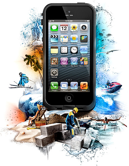 LifeProof iPhone 5 case - Gear Review - The Paddle Junkie