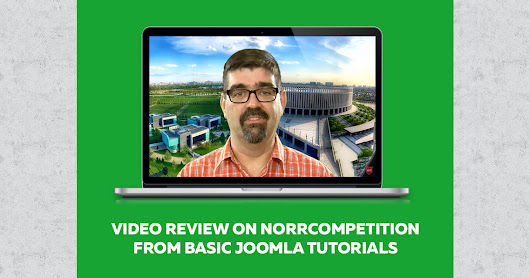 Video review on NorrCompetition from Basic Joomla Tutorials