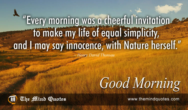 Quotes About Morning And Nature 32 Quotes