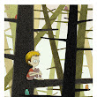 IN THE WOODS. New fancy-dan giclee print,...