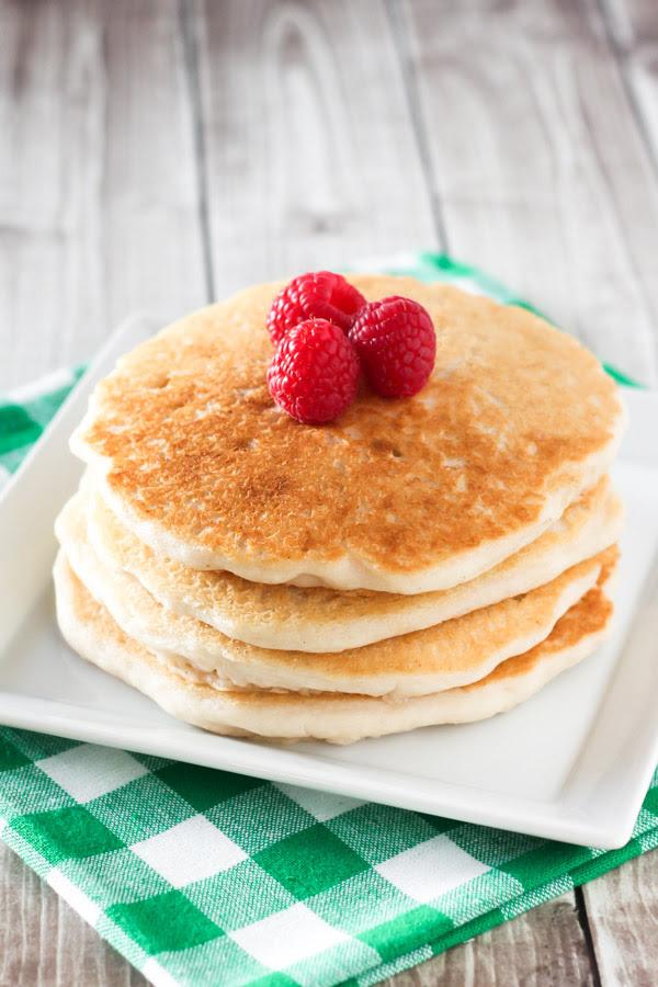 gluten free vegan pancakes - Sarah Bakes Gluten Free