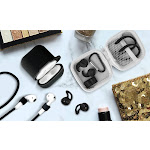 Aduro 8 Piece Accessory Bundle for Airpods Black