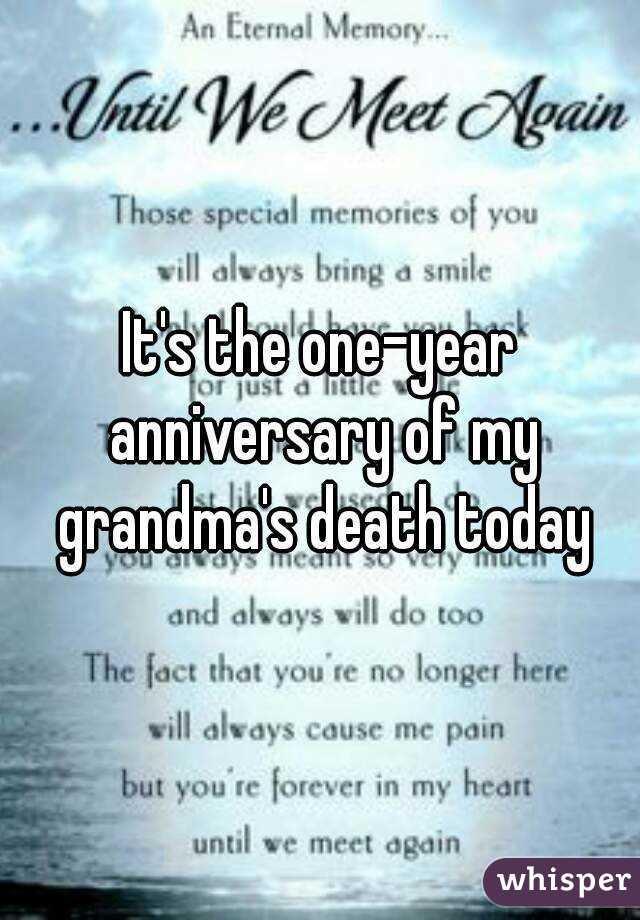 Grandma Death Wwwpicswecom
