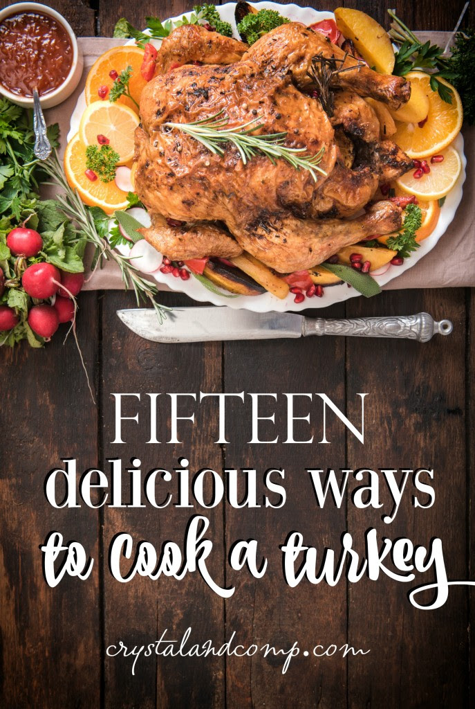 15 ways to cook a turkey