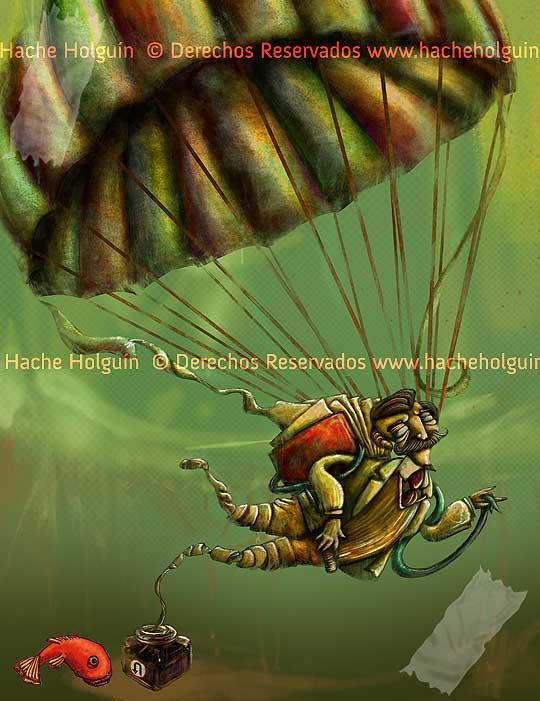Ilustración de Hache Holguín