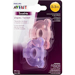 Avent Pacifier, Soothie, 0-3 Months - 2 pacifiers
