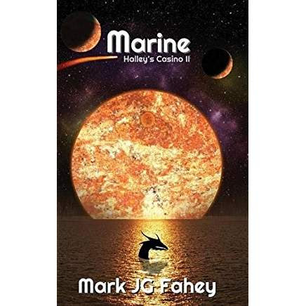 Marine: Halley's Casino II by Mark JG Fahey - Book Room Reviews