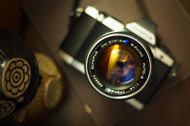 老鏡OM 50mm f1.4