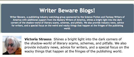 victoria strauss writer beware blog self-publishing joel friedlander