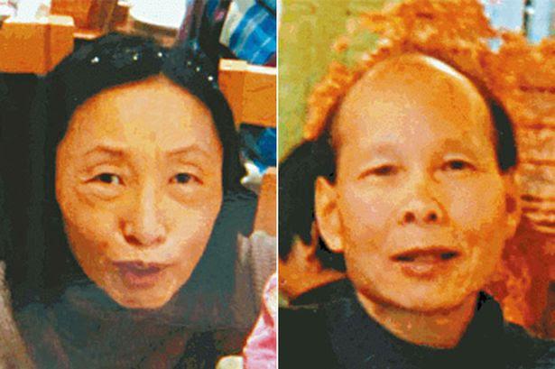Siu Yuet-yee and Chau Wing-ki