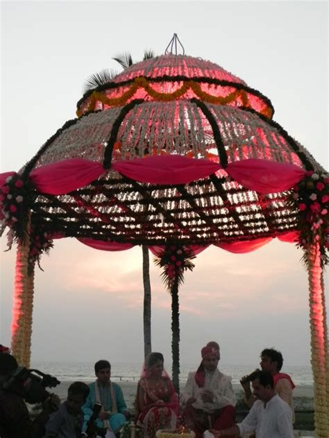 Traditional Indian Beach Wedding in Goa   Indian wedding