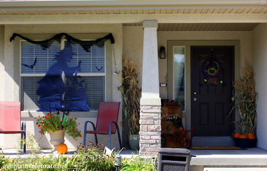 Halloween Porch Decorations - events to CELEBRATE!