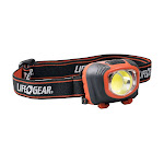 Life Gear 3900875 260 Lumens Black & Red LED Head Lamp with AAA Battery