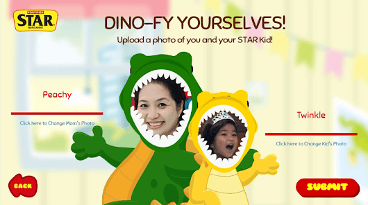 #MyStarKidAdventure with Twinkle and Star Margarine App - Mommy Peach