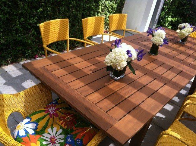 DIY: Making Your Own Pallet Patio Furniture - Decor Around ...