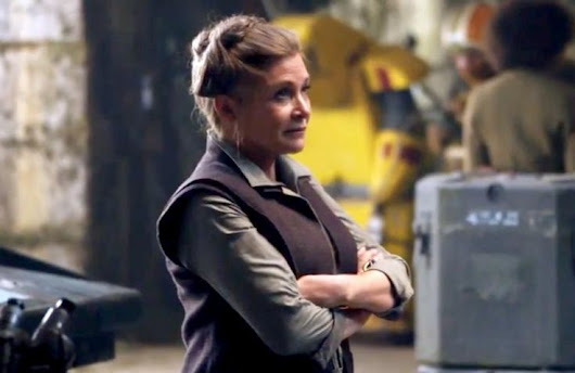 "Anne Thériault on Twitter: ""Everyone is sharing pictures of Fisher when she was young, but let me show you the Leia that was the most important to me: General Organa """