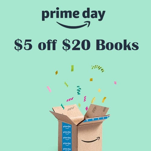Amazon Rare $5 OFF Print Book Coupon for #PrimeDay | Woof Woof Mama