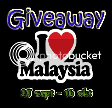 Giveaway I Love Malaysia