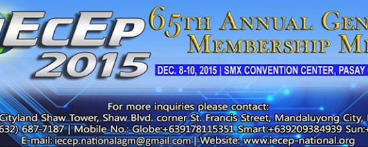 The 65th IECEP Annual General Membership Meeting