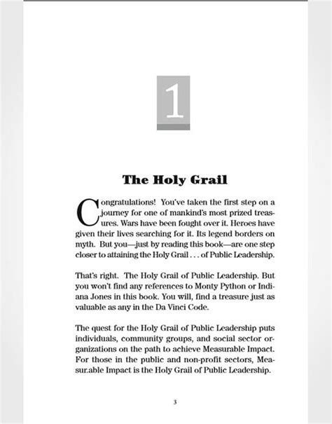 The Holy Grail of Public Leadership by Adam Luecking