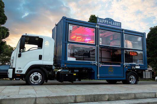 Shipping Container Food Trucks : converted truck