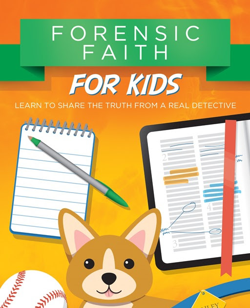 Forensic Faith for Kids {Book Review}