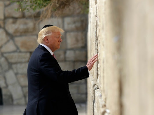 Trump Arrives in Israel for Presidential Trip to Holy Land