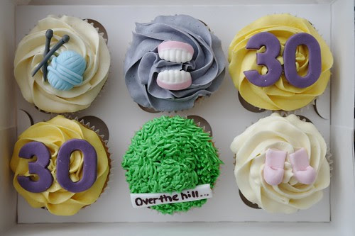 'Over the Hill' Cupcakes