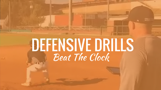 3 Defensive Drills That Beat the Clock In Baseball Practice [Videos]
