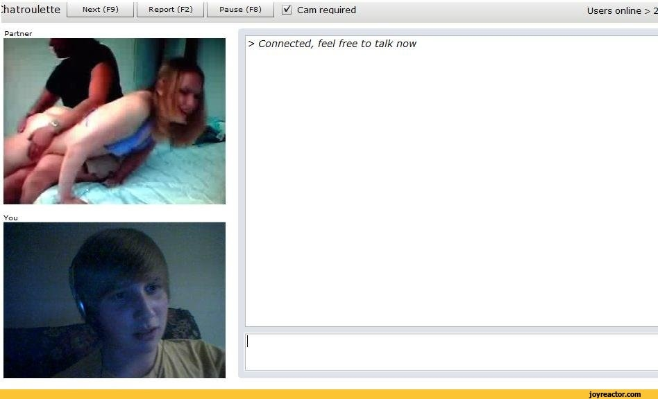 chatroulette webcam