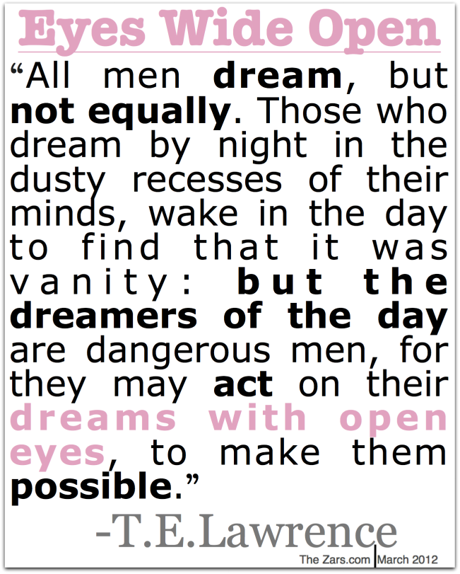 All Men Dreambut Not Equally Dreaming Quote Quotespicturescom