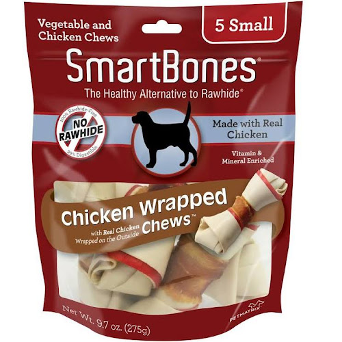 Image result for SmartBones Chicken Wrapped 5 SMALL