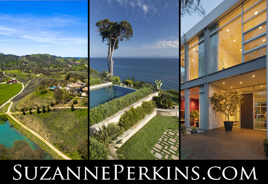 Three New Listings! A Paso Robles Ranch, a Hope Ranch Bluff-Top, and a Montecito Contemporary | Suzanne Perkins