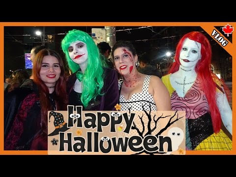 Festa e Fantasias de Halloween na América do Norte