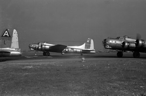 Squadron Planes Taking off on Mission 71 03