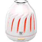 Aroma Diffusers Essential Oils, Breathing Light, 5 LED Colors, Auto Shut Off