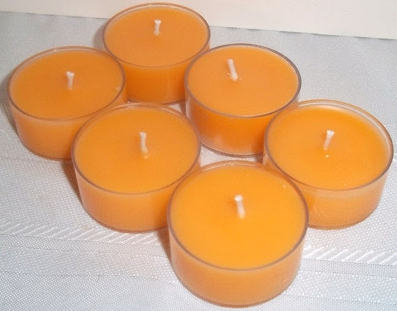 Orange Blossom tea lights - May fragrance of the month