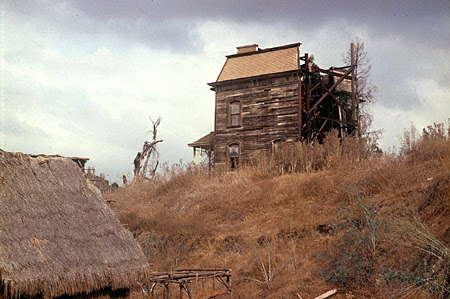 rear view of <i>Psycho</i> House in 1971