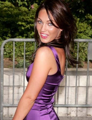 Megan Fox Red Hair. Megan Fox wearing Prince#39;s
