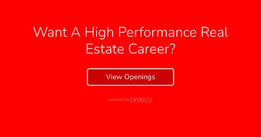 Want A High Performance Real Estate Career?