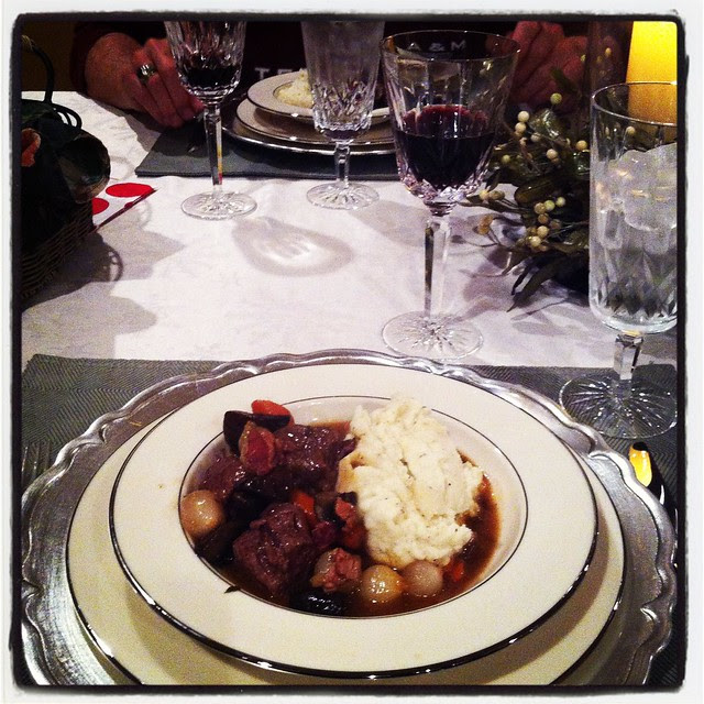 Christmas Eve Dinner: Boeuf Bourguignon