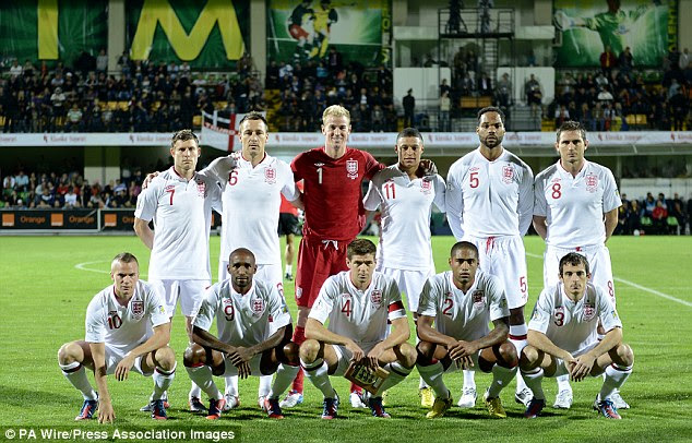 The last cap: John Terry lined up for England away in Moldova at the beginning of September where he won his 78th and final cap