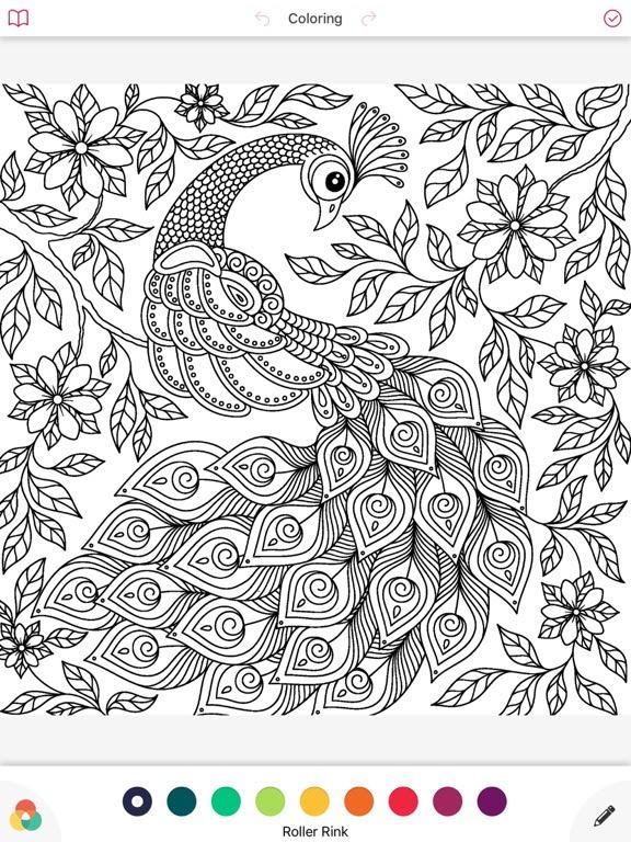 Mandala Coloring Book Draw Making Skills Shading On The App Store