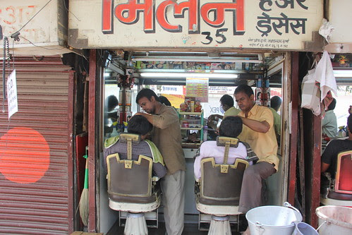 The Barbers Are Saviors Of Humanity ...In The Valley of the Apes by firoze shakir photographerno1
