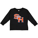 NCAA Sam Houston Bearkats RYLSHS06, G.A.3311, BLK, 5T/6T Size 5T/6T Black