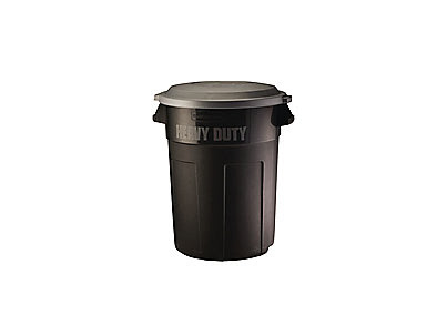 32 Gal Heavy Duty Non Wheeled Trash Can Rubbermaid