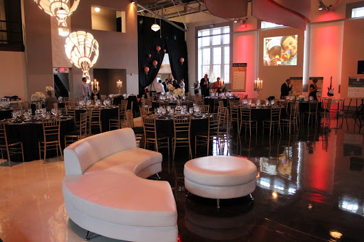Gala Event Design by Cure Design Group