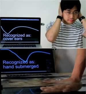 Tecnologia revolucionária faz objetos saberem como são tocados
